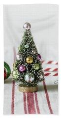 Beach Sheet featuring the photograph The Little Christmas Tree by Kim Hojnacki
