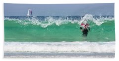 Beach Towel featuring the photograph The Little Mermaid by Terri Waters