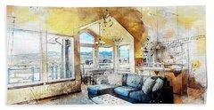 The Living Room Beach Sheet