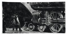 The Locomotive Beach Sheet