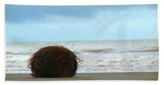 The Lonely Coconut Beach Towel