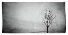 The Lonely Path Beach Towel