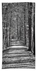 The Long Walk Beach Towel