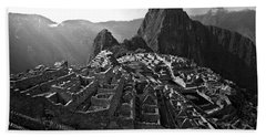 The Lost City Of The Incas Beach Towel