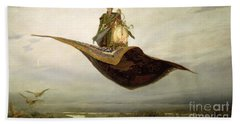The Magic Carpet Beach Towel by Apollinari Mikhailovich Vasnetsov