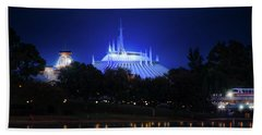 Beach Towel featuring the photograph The Magic Kingdom Entrance by Mark Andrew Thomas
