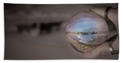 Beach Towel featuring the photograph The Magic by Lora Lee Chapman