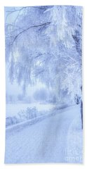 The Magic Of Winter 5 Beach Towel