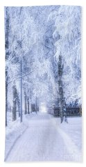 The Magic Of Winter 6 Beach Towel