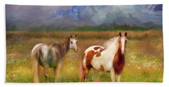 The Majestic Pasture Beach Towel
