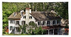 The Mansion At Hopewell Furnace Beach Towel
