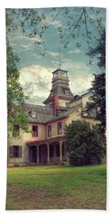 Beach Towel featuring the photograph The Mansion by John Rivera
