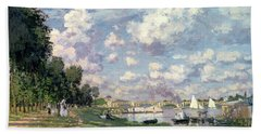 The Marina At Argenteuil Beach Towel