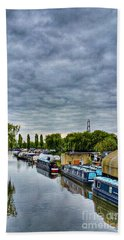 Beach Sheet featuring the photograph The Marina by Isabella F Abbie Shores FRSA