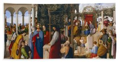 The Marriage At Cana Beach Towel