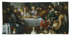The Marriage Feast At Cana Beach Towel