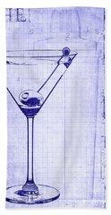 The Martini Blueprint Beach Sheet by Jon Neidert