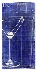 The Martini Patent Blue Beach Sheet by Jon Neidert
