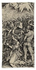 The Martyrdom Of St. Catherine Of Alexandria Beach Towel
