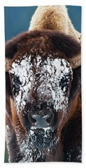 The Masked Bison Beach Towel