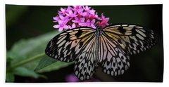 The Master Calls A Butterfly Beach Sheet
