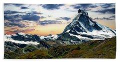 The Matterhorn Beach Towel