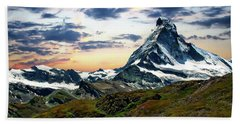 The Matterhorn Beach Towel