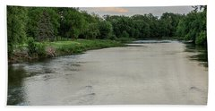 The Maumee River Beach Towel