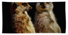 The Meerkats Beach Towel