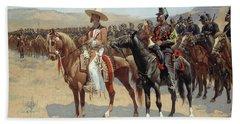 The Mexican Major Beach Towel