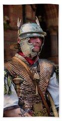 Roman Duty At World 's End Beach Sheet