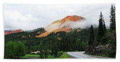The Million Dollar Highway To Ouray Beach Towel