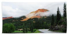 The Million Dollar Highway To Ouray Beach Sheet