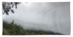 The Mist On The Mountain Beach Towel