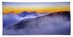 The Mists Of Cloudfall Beach Towel