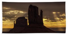 The Mittens Sunrise Beach Towel