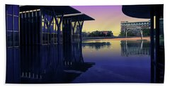 Beach Towel featuring the photograph The Modern, Fort Worth, Tx by Ricardo J Ruiz de Porras