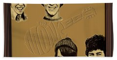The Monkees  Beach Towel by Movie Poster Prints