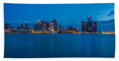 The Motor City  Beach Towel