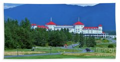 Beach Towel featuring the photograph The Mount Washington Hotel by Barbara S Nickerson