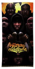 The Mystery Of Chessboxing Beach Sheet by Nelson dedosGarcia