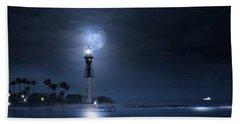 The Mystery Of Lighthouse Cove Beach Towel