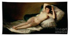 The Naked Maja Beach Sheet by Goya