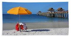The Naples Pier Beach Towel