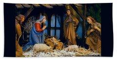 The Nativity Beach Sheet