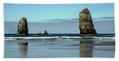 The Needles, Cannon Beach, Or Beach Towel