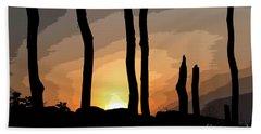 The New Dawn Beach Sheet by Tom Cameron