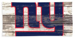 The New York Giants 3i         Beach Sheet