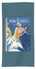 The New Yorker Cover - July 23rd, 1927 Beach Towel by Stanley W Reynolds