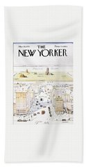 New Yorker March 29, 1976 Beach Towel